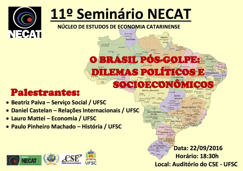 11 Seminário NECAT